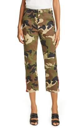 Veronica Beard Gisela Straight Leg Crop Jeans