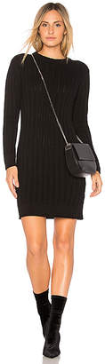 Callahan Stripe Crewneck Sweater Dress