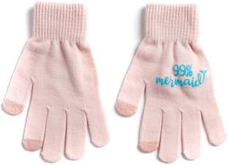 "So Women's SO ""99% Mermaid"" Tech Knit Gloves"