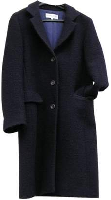 Gerard Darel Purple Wool Coat for Women