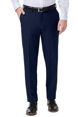"Haggar Premium Comfort 4-Way Stretch Slim Fit Flat Front Dress Pants - 29-38\"" Inseam"