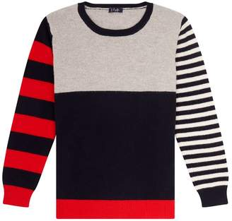 Il Gufo Colour Block Sweater
