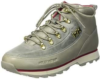 Helly Hansen Women's W The Forester Chukka Boots, Beige (Laurel Oak/Natura/Plum), 42 EU