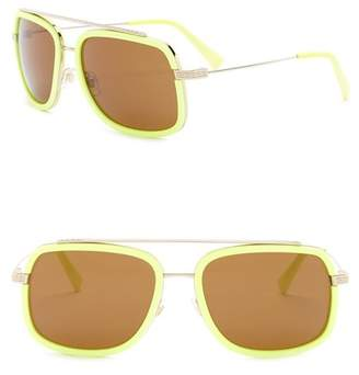 Versace 60mm Square Pop Chic Sunglasses