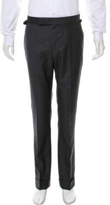 Tom Ford Flat Front Wool Pants