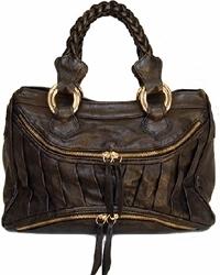 Treesje - Black Leather Handbag