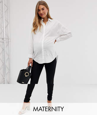 Mama Licious Mama.Licious Mamalicious maternity Over The Bump Slim Fit Jean