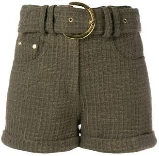 Balmain structured shorts