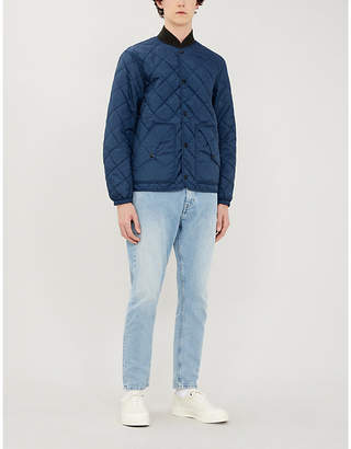 Ralph Lauren RRL Bronco-embroidered reversible quilted jacket