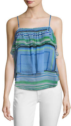 Tracy Reese Flounce Camisole Top