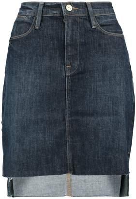 c758ffb8d Side Zip Denim Skirt - ShopStyle Australia