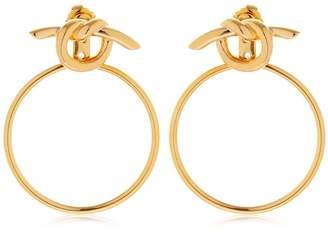 Venus Hoop Ear Jacket Earrings