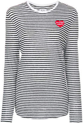 Zoe Karssen striped jumper