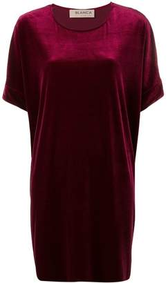 DAY Birger et Mikkelsen Blanca velvet T-shirt dress