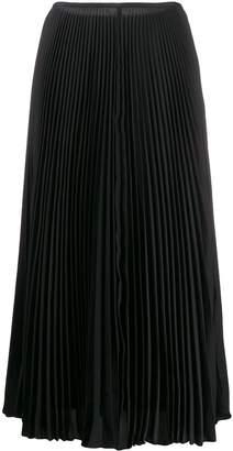 Joseph high-waisted pleated skirt