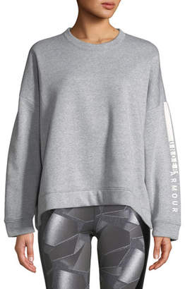 Under Armour Rival Fleece Oversized Crewneck Sweatshirt
