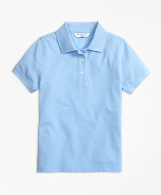 Brooks Brothers Girls Short-Sleeve Pique Polo Shirt
