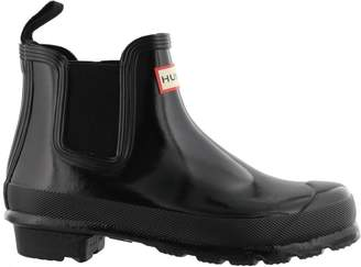 Hunter Chelsea Gloss Boots