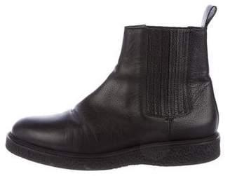 Saint Laurent Hugo Leather Chelsea Boots