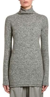 Agnona Wool-Cashmere Turtleneck Sweater