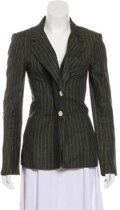 Veronica Beard Linen Pinstripe Blazer