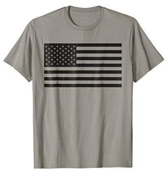 American Flag Shirt - Black - for Men