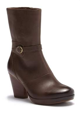 Dansko Marietta Burnished Nubuck Leather Mid Calf Boot