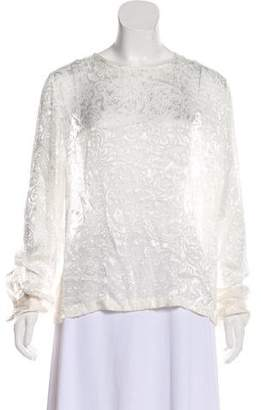 Preen by Thornton Bregazzi Patterned Long Sleeve Top