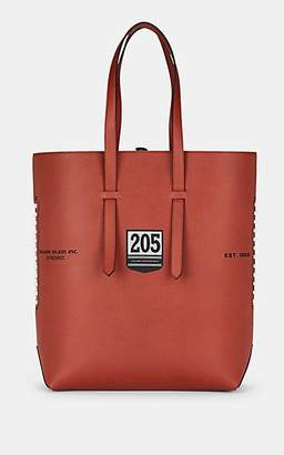 Calvin Klein Men's The Catch Football Leather Tote Bag - Brown