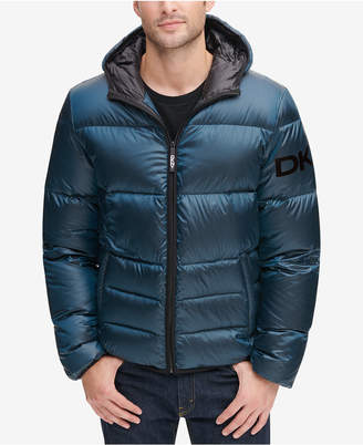 DKNY Men Hooded Puffer Jacket