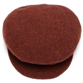 Isabel Marant Gabor Wool Felt Baker Boy Cap - Womens - Red