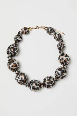 H&M Large necklace - Black