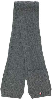 Thom Browne chunky knit scarf