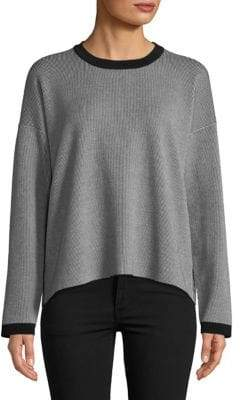 Eileen Fisher Dropped Shoulder Crewneck