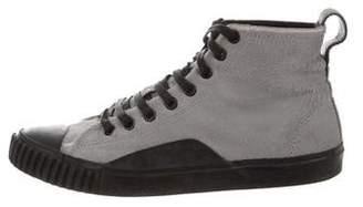 Balenciaga Ponyhair High-Top Sneakers