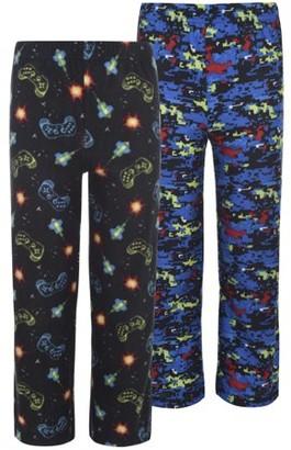 Hanes Micro Fleece Sleep Pants Value 2 Pack (Little Boy & Big Boy)