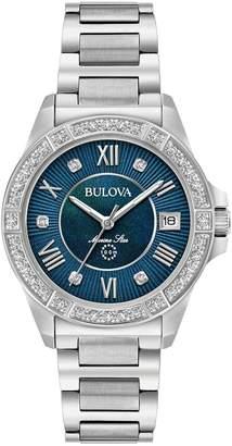 Bulova Women's Marine Star Diamond Accent Bracelet Watch