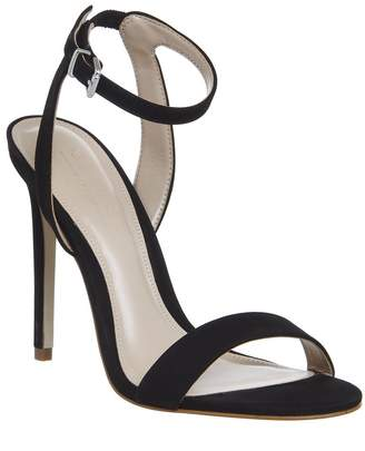 Office Alana Single Sole Sandals Black Nubuck