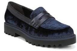 Sam Edelman Dillon Velvet Platform Loafers
