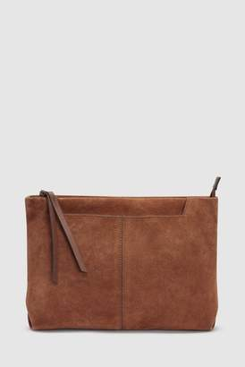 Tan Suede Clutch Bag - ShopStyle UK 32eea52f5a