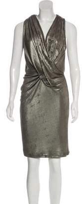 Temperley London Metallic Sleeveless Dress