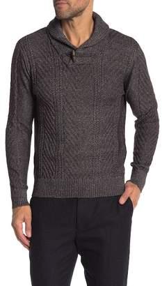 Weatherproof Shawl Collar Sweater