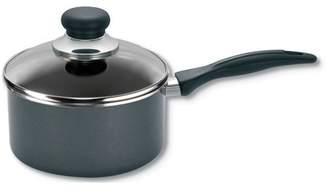T-Fal Specialty Non-Stick 3-Quart Handy Pot Sauce Pan with Glass Lid, Black