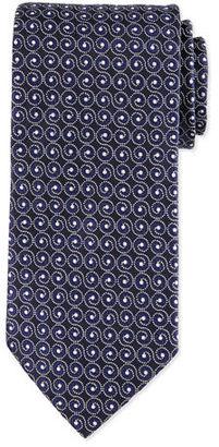 Eton Swirl-Print Silk Tie $145 thestylecure.com