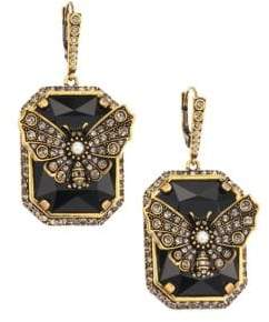 Alexander McQueen Butterfly Drop Earrings