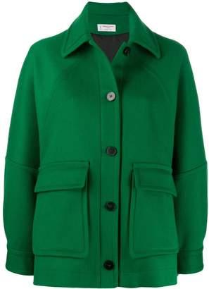 Alberto Biani oversized button-up jacket