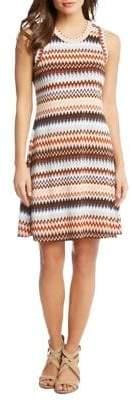 Karen Kane Zigzag Sheath Dress