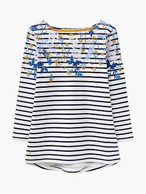 cc09f680be Joules Harbour Floral Print Jersey Top