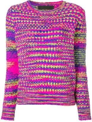 The Elder Statesman cashmere mesh knit sweater