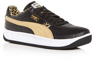Puma Men's GV Special Leather Low-Top Sneakers